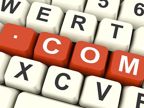 Domänregistrering och webbhotell erbjuder vi också i vår helhetslösning