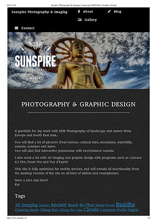 Sunspire Photography & Imaging - Landscape HDR Photo, Graphics Design