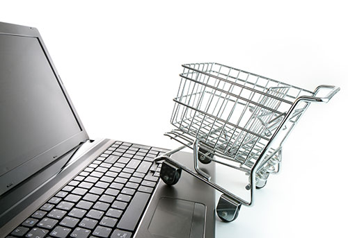 E-handel och online-shopping