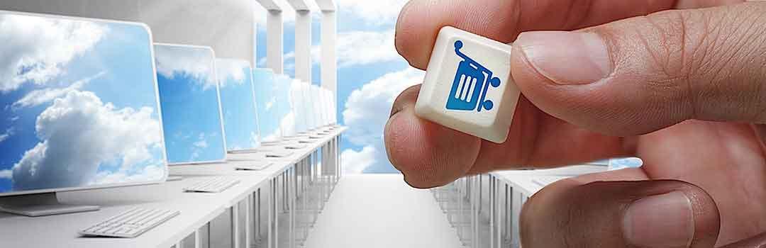 Lösningar för online shopping, e-handel